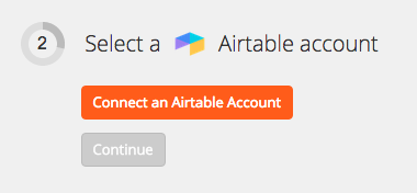 Connect Airtable Account