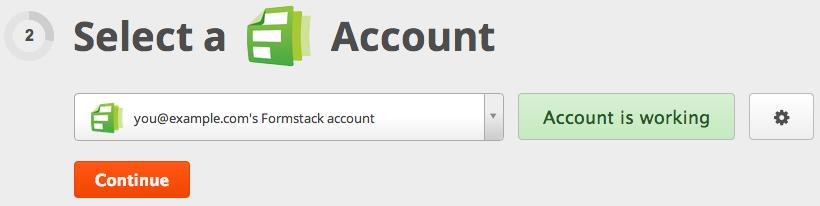 Zapier tests your account