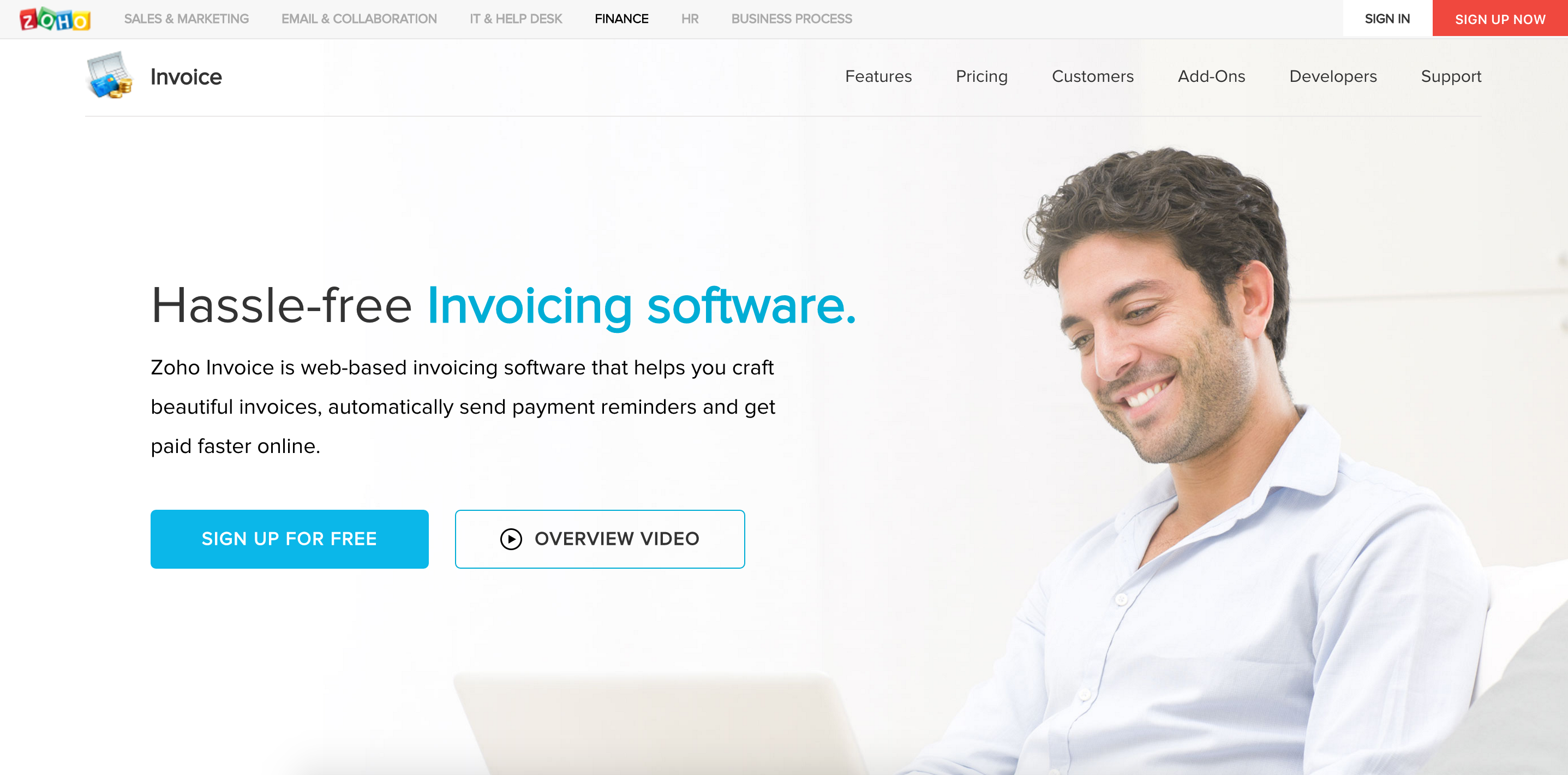 Dealer Invoice Pricing Pdf Zoho Invoice Review Pricing Features And Alternatives  Zapbook  Best Invoice Software Free Word with Payment Due On Receipt Of Invoice Zoho Invoice Review Pricing  Features Church Donation Receipt