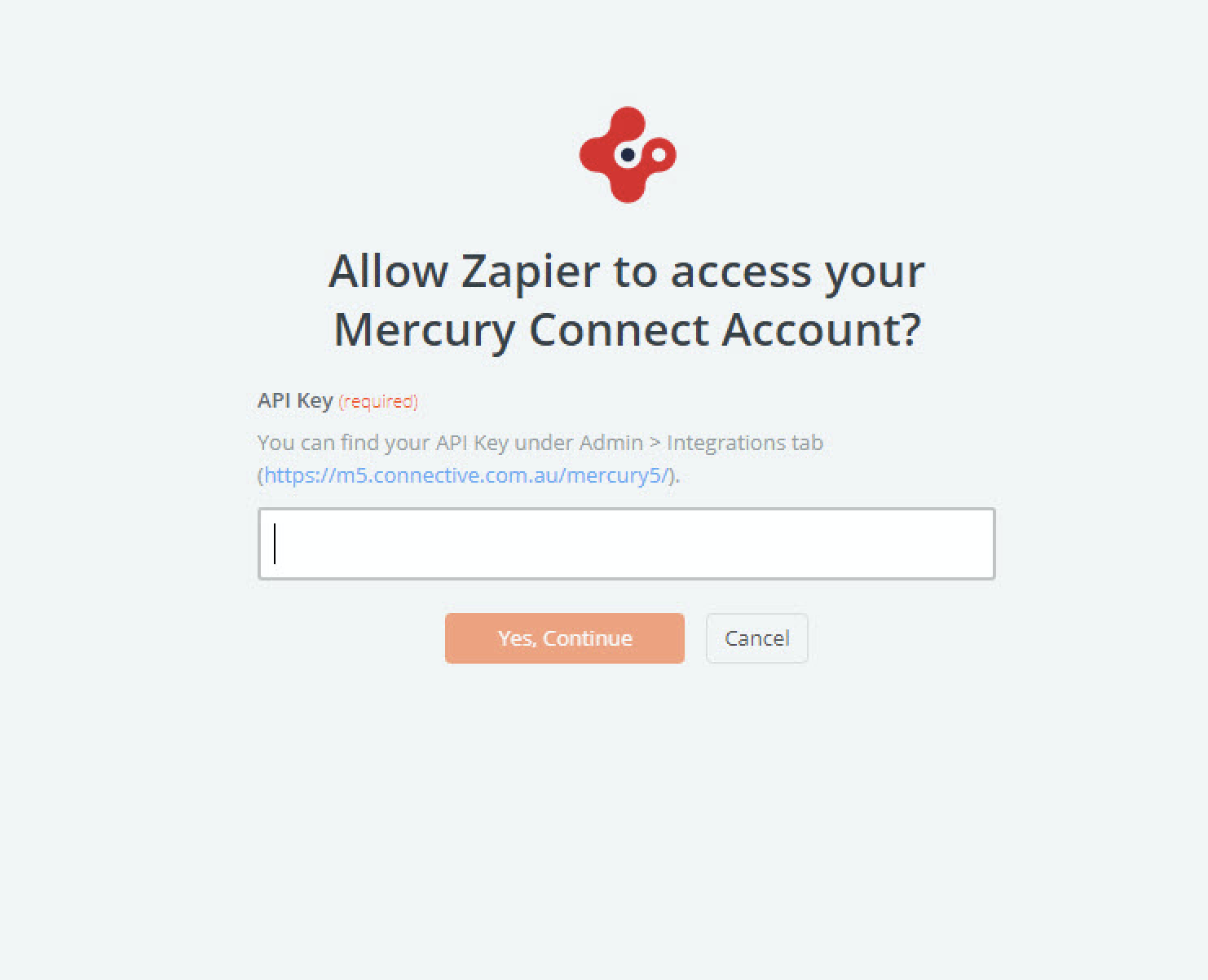 Login to Mercury Connect
