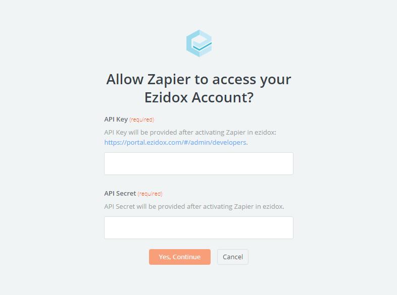 Ezidox API Key