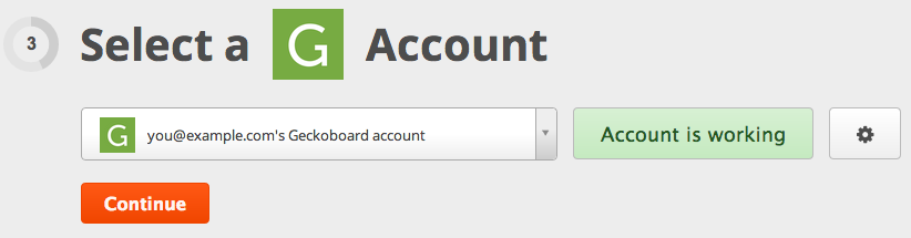 Zapier tests your account
