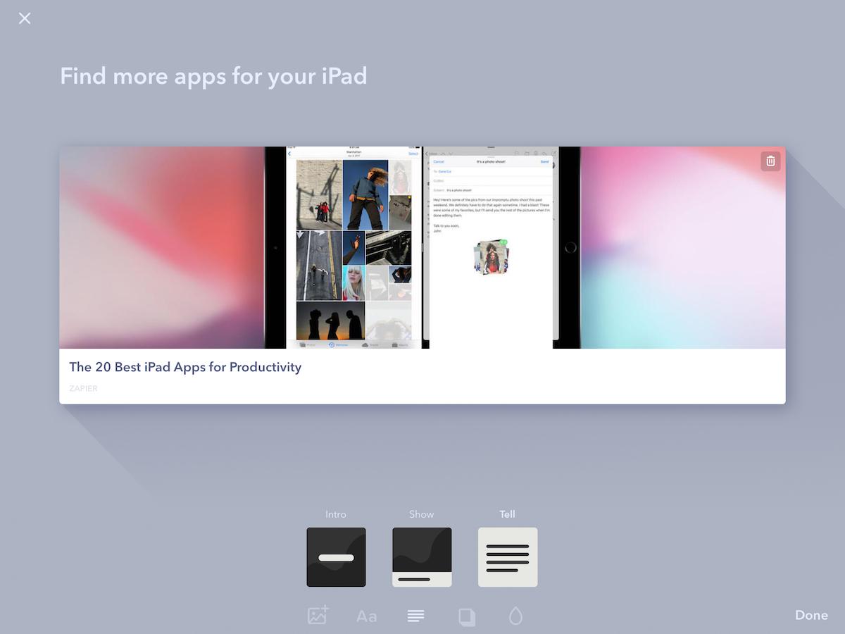 Paste for iPad