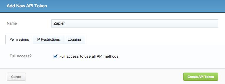 Grab your Sirportly API Token