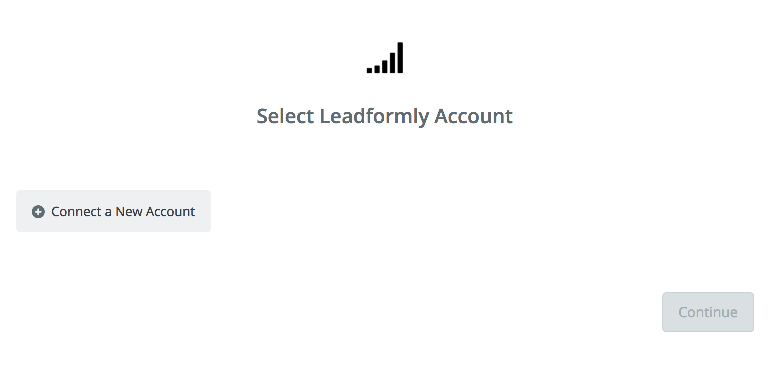 Click to connect  Leadformly