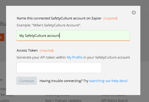 SafetyCulture API Key