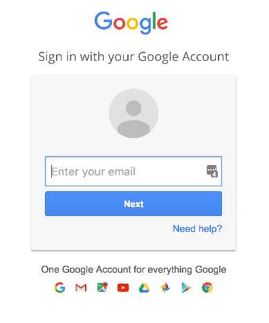 Login to authorize your Google Sheets account