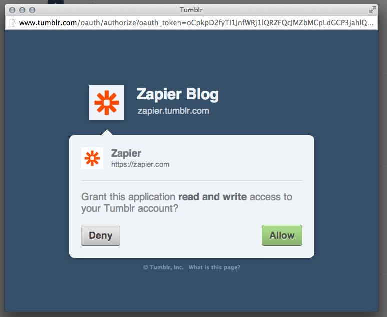 How to access tumblr