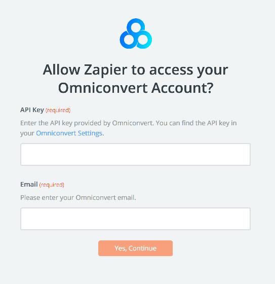 Omniconvert API Key