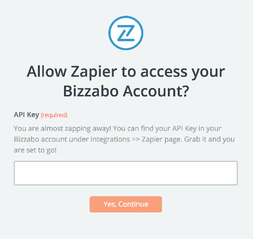Bizzabo API Key