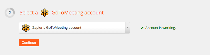 Your GoToMeeting account is authorized