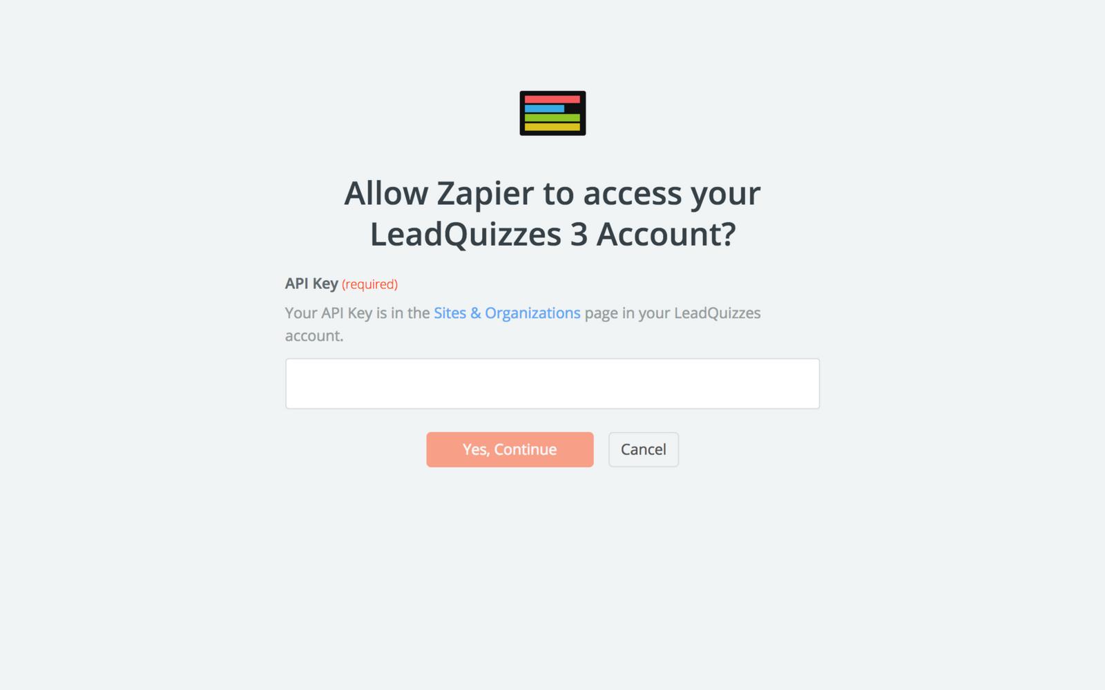 LeadQuizzes 3 API Key