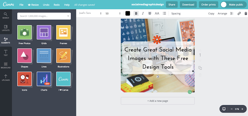 in the 5 years since it was launched over 10 million people have used canva to simplify graphics design with hundreds of templates image and illustration