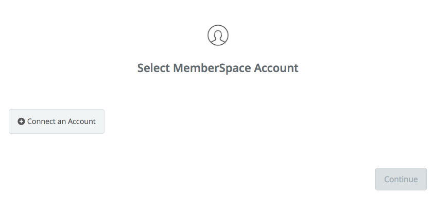 Click to connect  MemberSpace