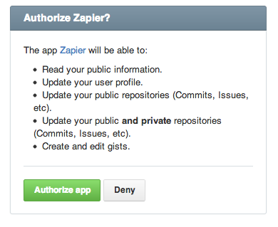 Confirm or reauthorize Zapier's access