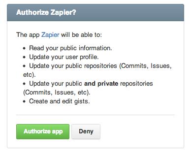 Confirm or reauthorize Zapier's access