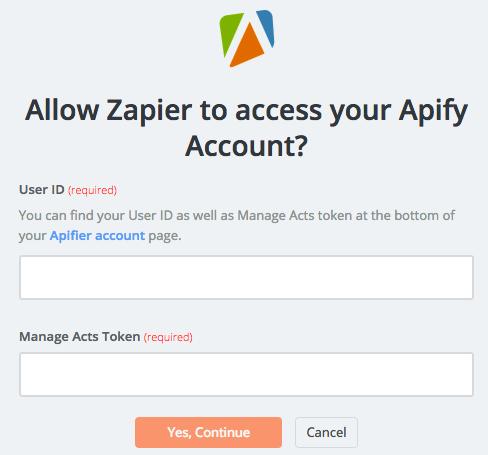 Apify API Key