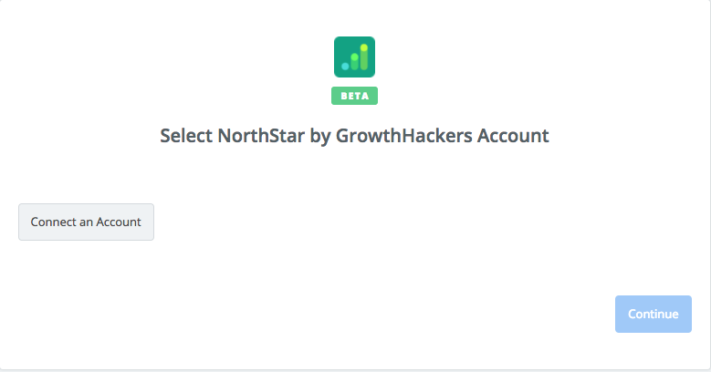Click to connect NorthStar by GrowthHackers
