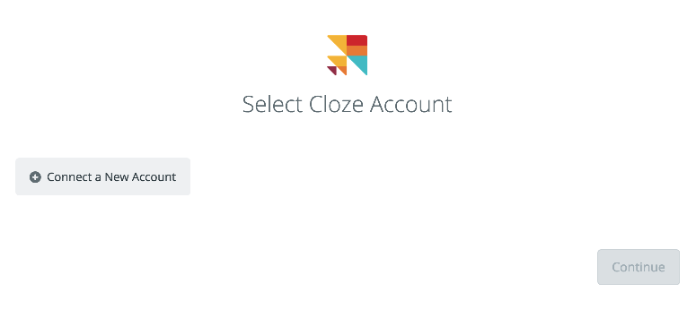 Click to connect Cloze