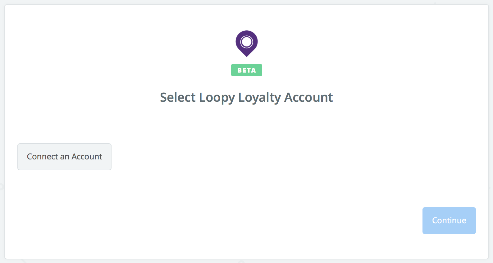 Click to connect Loopy Loyalty