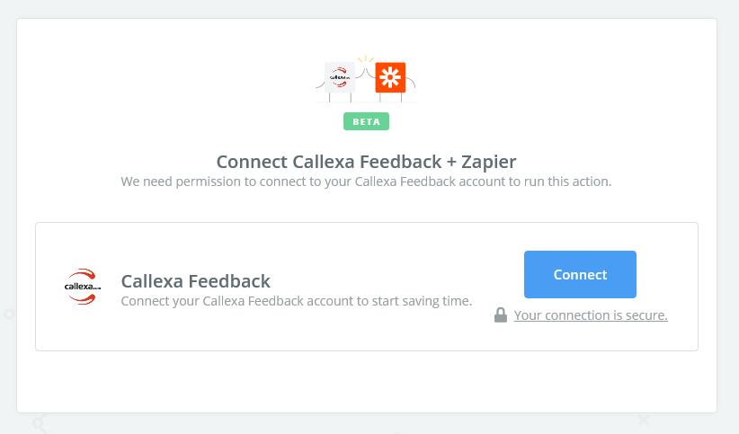 Click to connect Callexa Feedback
