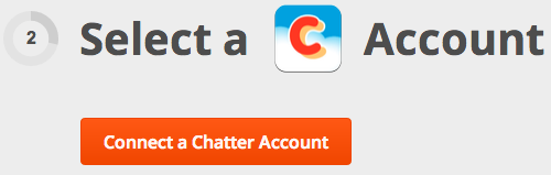Connect Chatter to Zapier