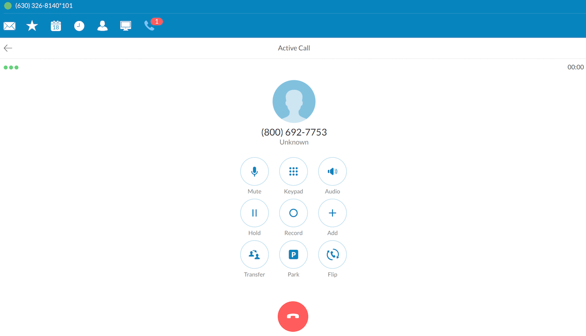 RingCentral Screenshot