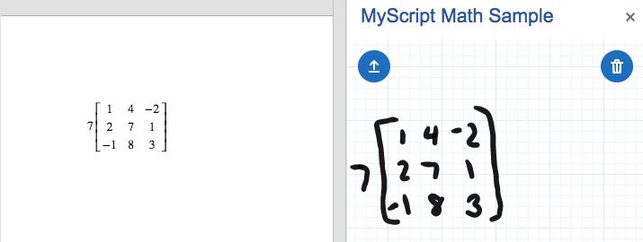 MyScript Math