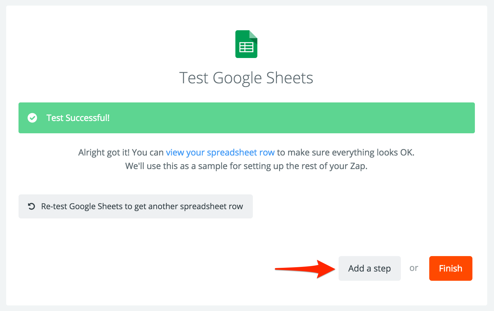 Google Sheets Integration Help Support Zapier – Sample Rate Sheet