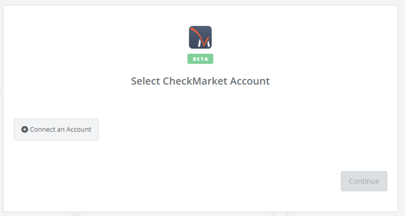 Click to connect CheckMarket