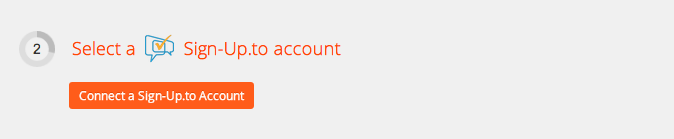 Connect your Sign-Up.to account to Zapier