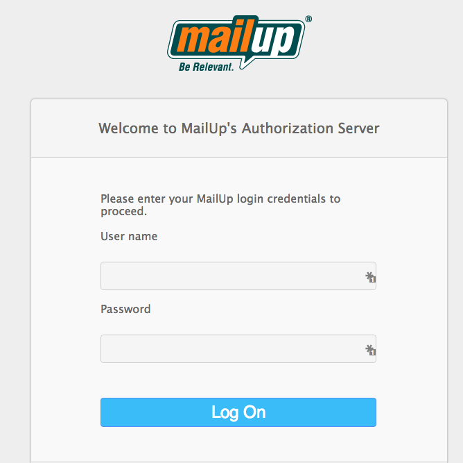 MailUp Login