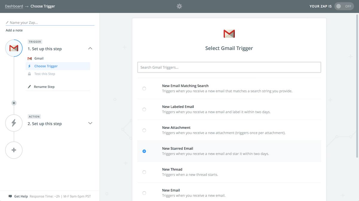 Zapier Gmail Integrations