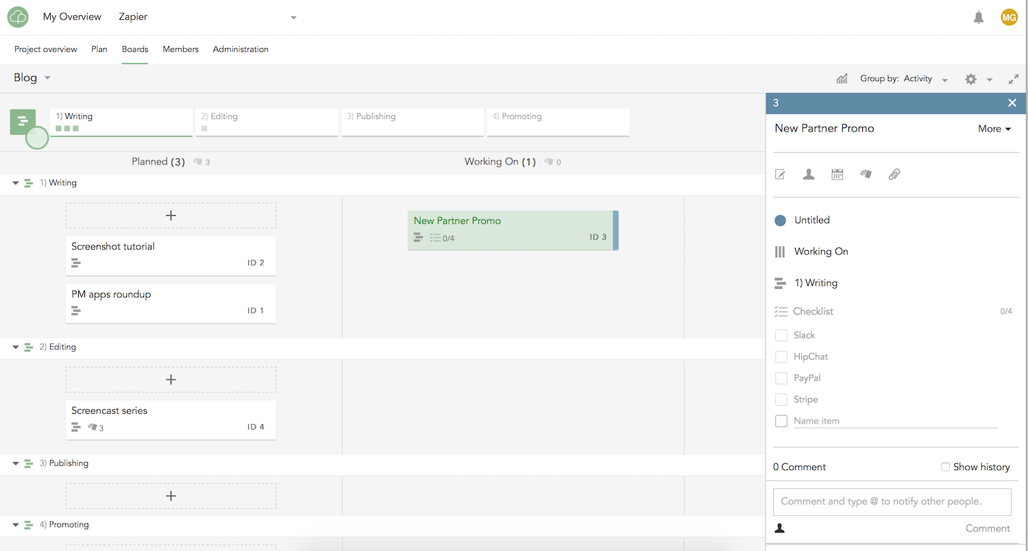 Projectplace features pricing alternatives and more zapier projectplace features gantt charts nvjuhfo Image collections