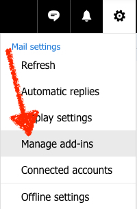Install Outlook.com Add-in