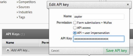 Retrieve your Nutshell CRM API key
