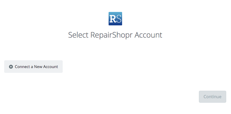 Click to connect RepairShopr