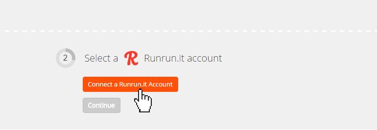Connect a Runrun.it account