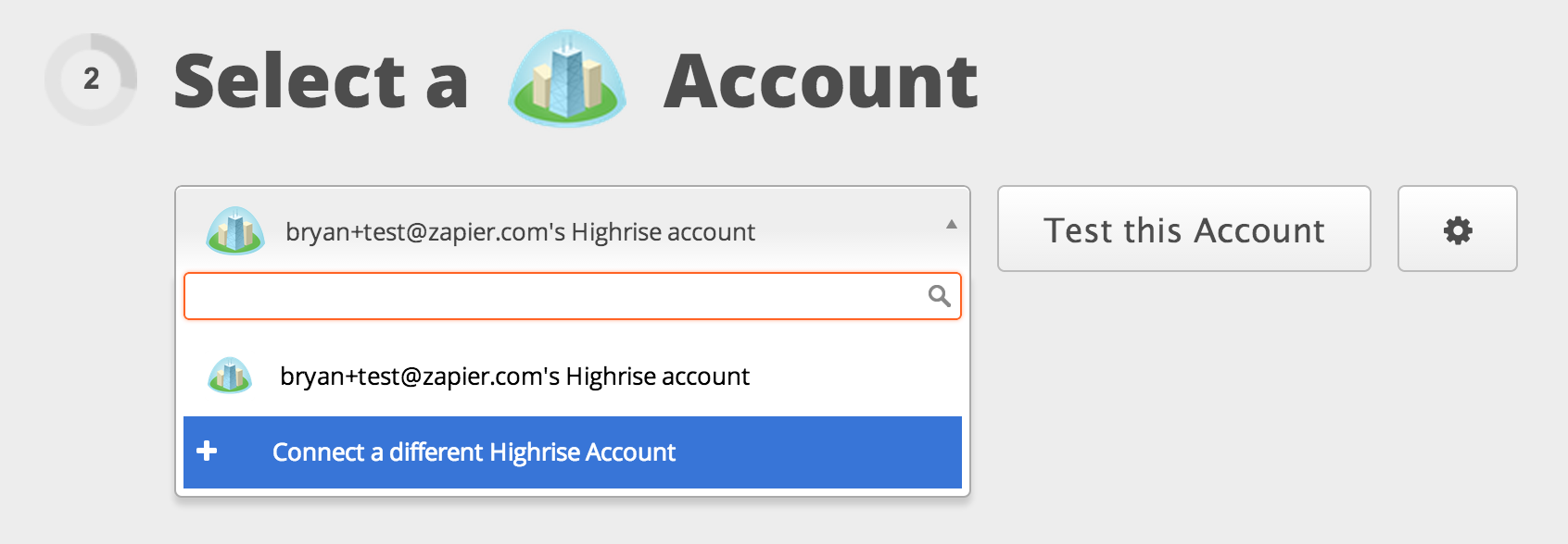 Connect your Highrise account!