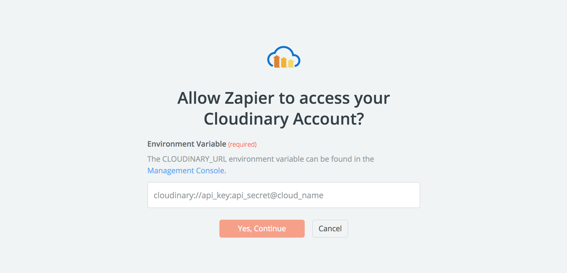 Cloudinary API Key
