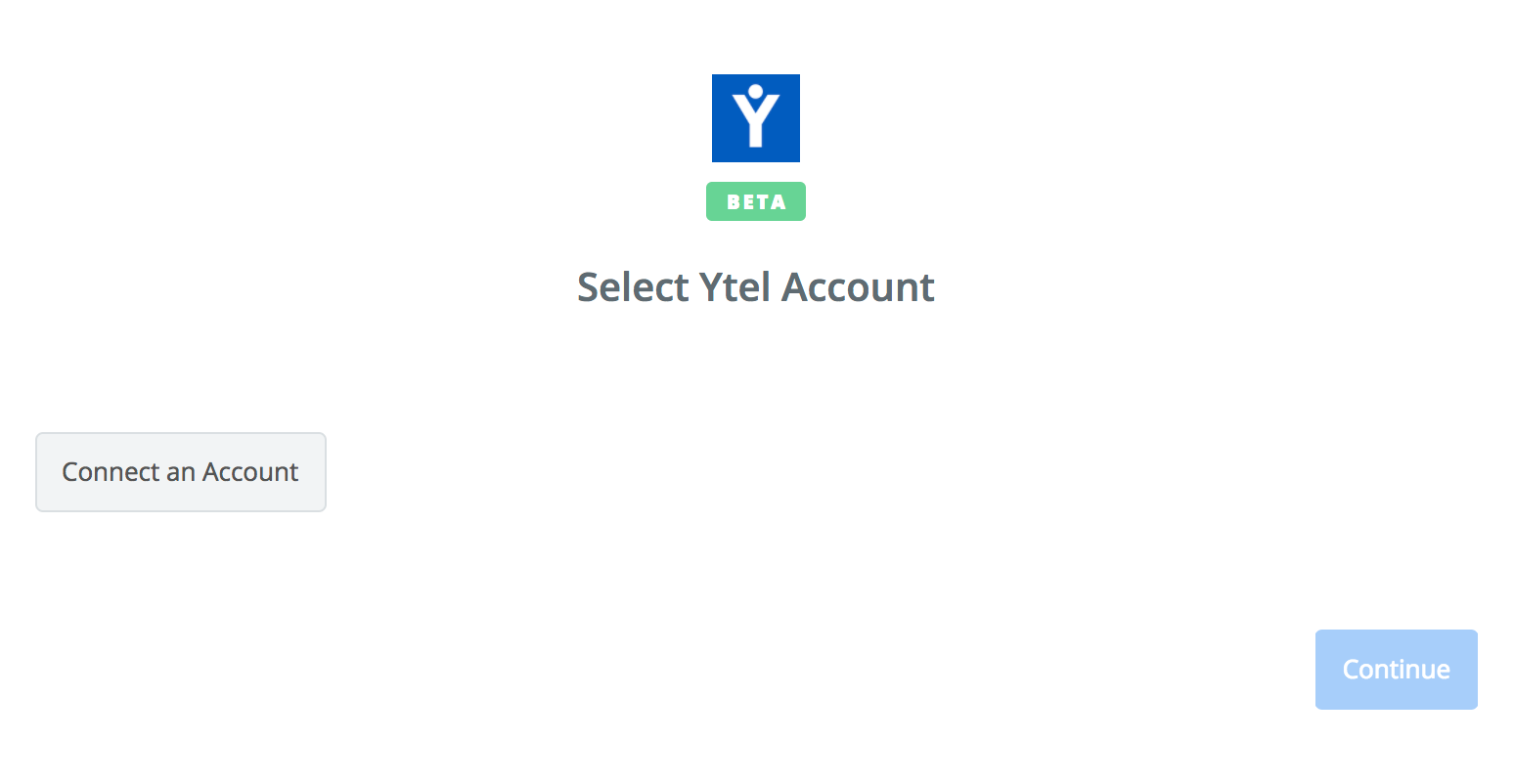 Click to connect Ytel