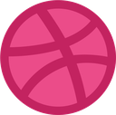 Dribbble integration logo